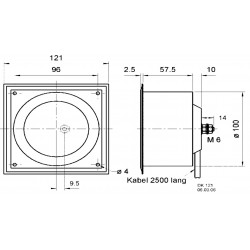 TODAY Torchon 50x70 cm zinc